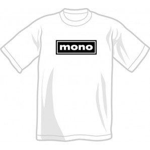 free for orders over  80 €: T-Shirt 'Mono' all sizes white