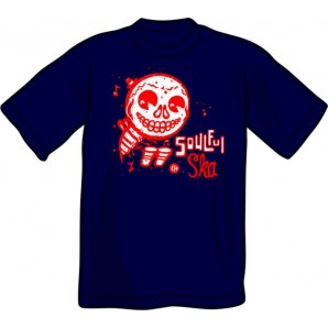 T-Shirt 'CHema Skandal! - Soulful Ska' navy - sizes S - 3XL