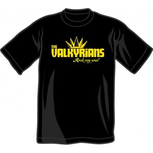 T-Shirt 'Valkyrians' black - sizes S - 3XL