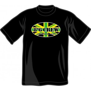 T-Shirt '8°6 Crew - Working Class Reggae' black - sizes S, M