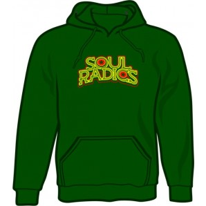 hooded jumper 'Soul Radics - Big Shot' bottlegreen - sizes S - XXL
