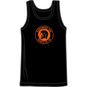 Tanktop 'Remember The Spirit Of '69' black - sizes S - 3XL