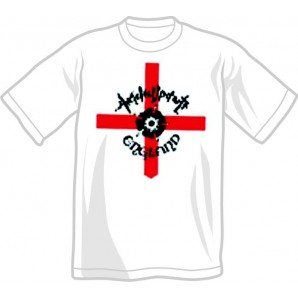 T-Shirt 'Angelic Upstarts - England' white, all sizes