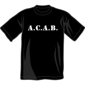 T-Shirt 'A.C.A.B.' all sizes