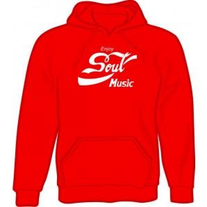 hooded jumper 'Enjoy Soul Music' all sizes