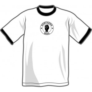 T-Shirt 'Northern Soul - Ringer shirt' all sizes