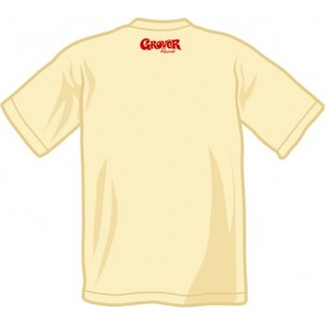 free for orders over  80 €: T-Shirt 'Grover' all sizes white