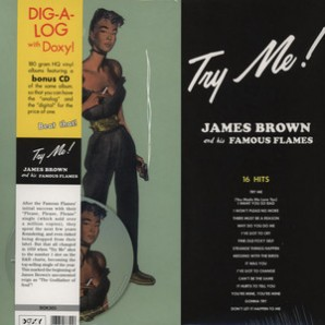 Brown, James & The Blue Flames 'Try Me'  LP+CD