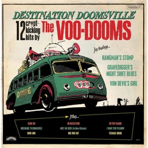 Voo-Dooms 'Destination Doomsville' LP ltd. splatter vinyl