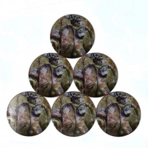 Warrior  Set of 6 Coasters 'Lambretta'