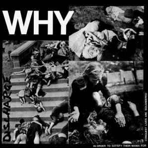 Discharge ‎'Why'  LP