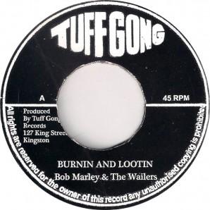 """Marley, Bob & The Wailers 'Burnin' & Lootin' + 'Rastaman Chant'  7"""""""