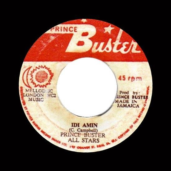 Prince Buster All Stars Zoot Simms 100 Ton Megaton Press Along