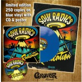 "Soul Radics 'Radication' Blue Vinyl 10""+CD+Poster"