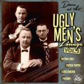 "V.A. 'Professor Bop Presents: Down At The Ugly Men's Lounge Vol.2'  10""LP+CD"