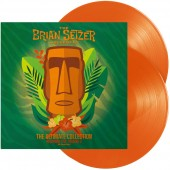 Brian Setzer Orchestra 'The Ultimate Collection - Recorded Live Vol. 2' 2-LP orange vinyl