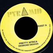 "Dekker, Desmond 'Pretty Africa' + Roland Alphonso 'El Torro'  7"""