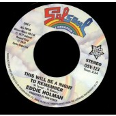 Holman, Eddie 'This Will Be A Night To Remember' + 'Ten Percent'  7""