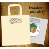 "Senior Allstars 'Freedom Sounds' + 'Freedom Dub'  7"" special red vinyl edition in 7"" tote bag"