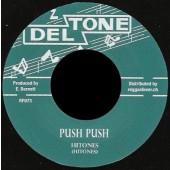"Hitones 'Push Push' +  Deltone All Stars 'Debo'   7"""