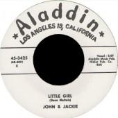"""Jackie & Joe 'Little Girl' + 'Raging Sea'  7"""""""