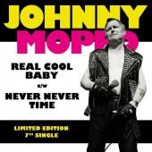 """Johnny Moped 'Real Cool Baby' + 'Never Never Time'  7"""""""