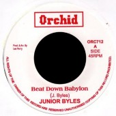 Junior Byles 'Beat Down Babylon' + Upsetters 'Version'  7""