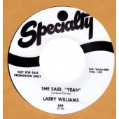 Williams, Larry 'Bad Boy' + 'She Said Yeah'  7""