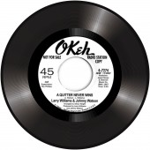 """Larry Williams & Johnny Watson 'A Quitter Never Wins' + 'Too Late'  7"""""""