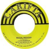 """Robinson, Llloyd With The Broncos Inc. Regal Reggay ' + C Cooper with the Broncos Inc. 'Keyboard Reggay'  7"""""""