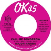 Major Harris 'Call Me Tomorrow' + Walter Jackson 'Where Have All The Flowers Gone'  7""