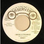 Niney 'I Made A Promise' + 'Version'  Jamaica 7""
