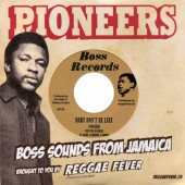 """Pioneers with The Blenders 'Baby Don't Be Late' + 'Gimme Gimme Girl'  7"""""""
