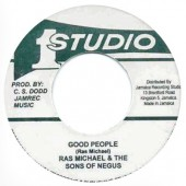 Ras Michael & The Sons OF Negus 'Good People' + 'Pt.2' 7""