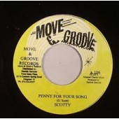 Scotty 'Penny For Your Song' + 'Penny Version'  Jamaica 7""