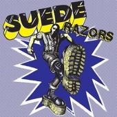"Suede Razors 'Boys Night Out' + '(I'm A) Bovver Boy'  7"" white vinyl"