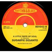 Desanto, Sugar Pie 'Going Back Where I Belong' + 'A Little Taste Of Soul'  7""
