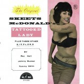 V.A. 'Skeets McDonald's Tattoed Lady Plus 3 Other Sizzlers'  7""