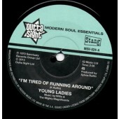 Young Ladies 'I'm Tired Of Running Around' + B.B.P. 'In The Prime Of Love'  7""
