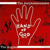 "Amphetameanies + Argies 'Hand Of God'  split 7"" EP"
