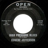 """Jefferson, Eugene 'A Pretty Girl Dressed In Brown' + 'High Pressure Blues'  7"""""""