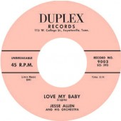 Allen, Jesse 'Love My Baby' + 'After A While'  7""