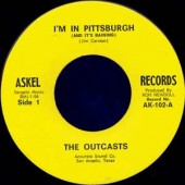 """Outcasts 'I'm In Pittsburgh And It's Raining' + 'Route 66'  7"""""""