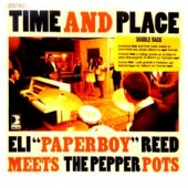 "Pepper Pots with Eli Reed 'Time And Place'  7"" + mp3 + DVD"
