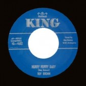 Brown, Roy 'Hurry Hurry Baby' + 'Up Jumped The Devil'  7""