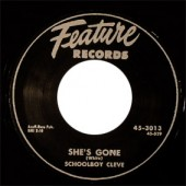 Schoolboy Cleve 'She's Gone' + 'Strange Letter Blues'  7""