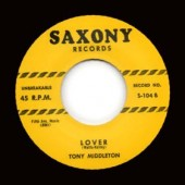 Middleton, Tony 'Lover' + Louis Payne 'That's Allright With Me'  7""