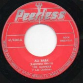 Los Boppers 'Ali Baba' + La Lupe 'Fever'  7""
