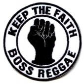 patch 'Boss Reggae - Keep The Faith'