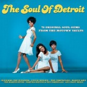 V.A. 'The Soul Of Detroit – 75 Original Soul Gems From The Motown Vaults'  3-CD
